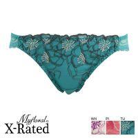日本内衣 Myfloral X-RATED 时尚高贵臀部性感蕾丝女款三角内裤