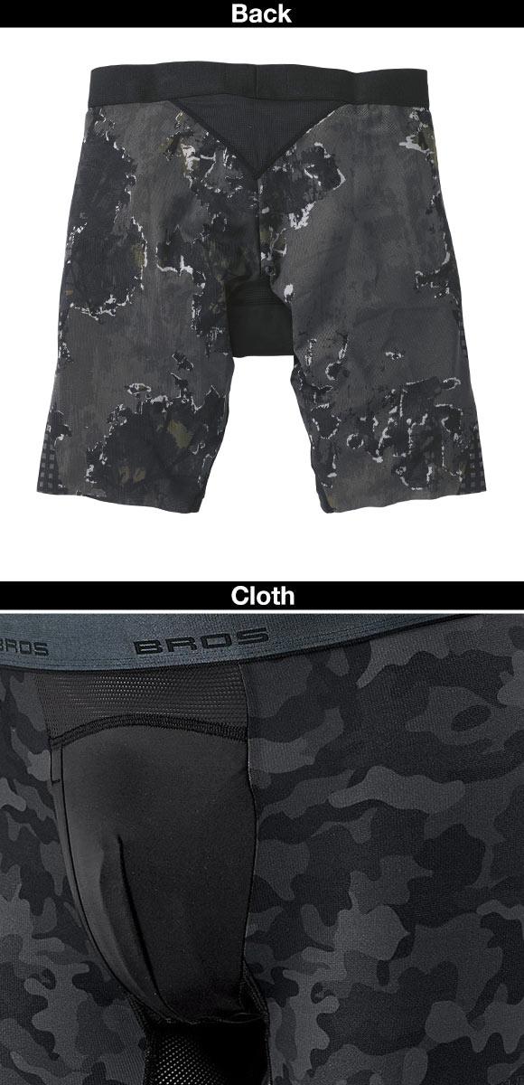 Bros Crosswalker Underwear (Sizes M-L, Made in Japan)