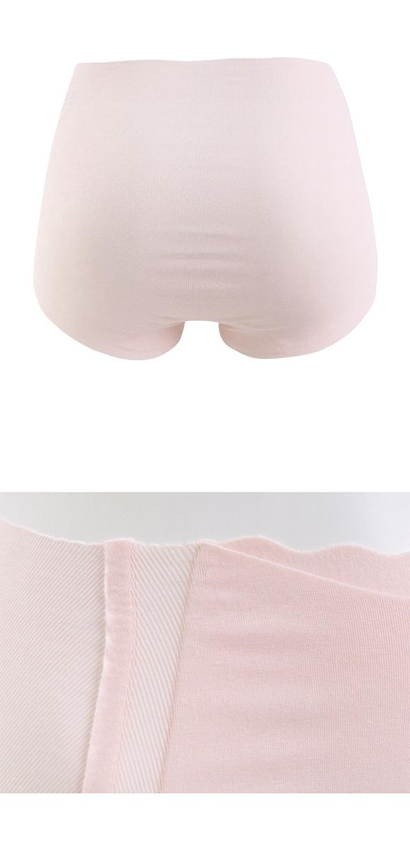 诗萝涵朵女三角内裤M-LL码GUNZE郡是KIREILABO完全无接缝舒适收腹高腰