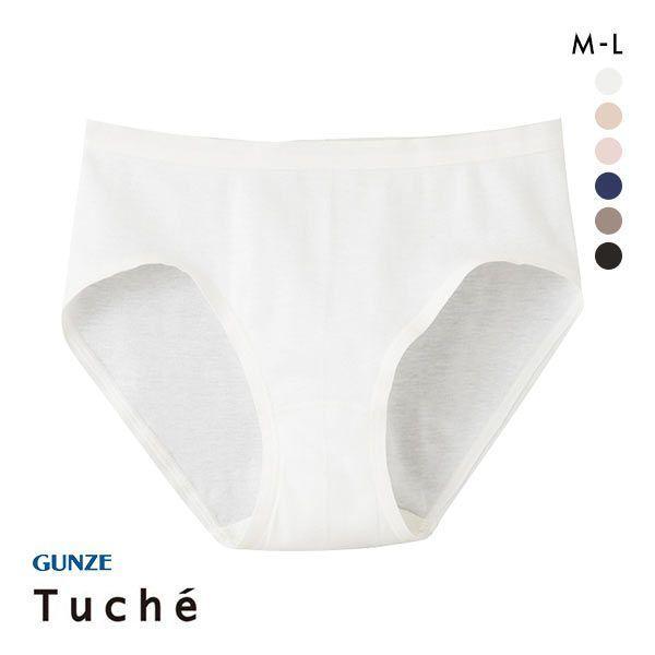 (グンゼ)GUNZE (トゥシェ)Tuche 着るコスメ スタンダードショーツ 綿100% 天然美容成分配合