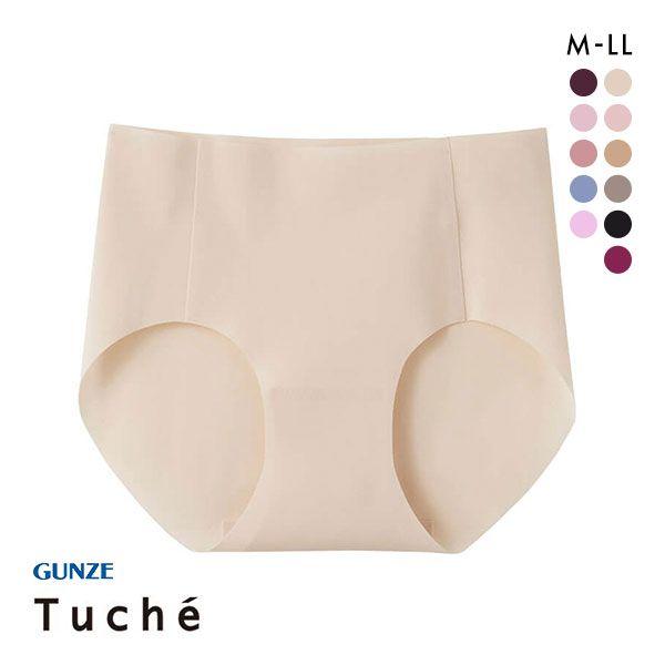 20%OFF【メール便(5)】 (グンゼ)GUNZE (トゥシェ)Tuche 縫い目0 ハーフショーツ