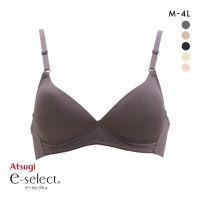 文胸内衣厚木e-select系列舒适无钢圈女内衣3/4罩杯文胸