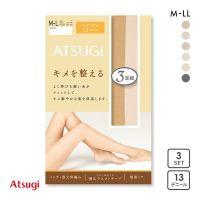 厚木ATSUGI女士连裤袜舒适贴身防静电消臭吸汗超值3双组合薄丝袜