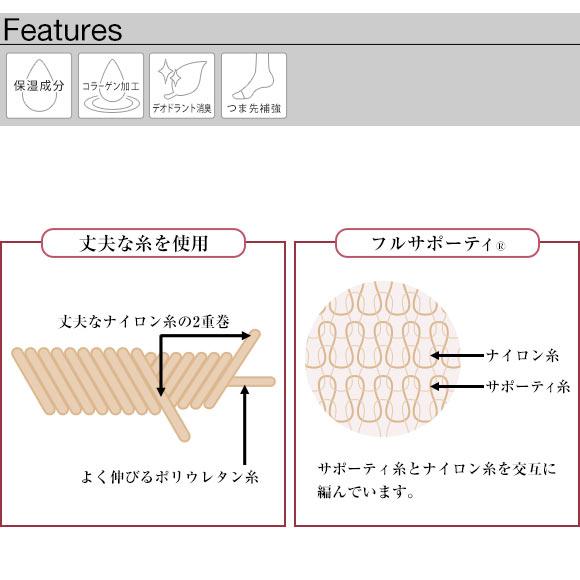 Atsugi Slim Line Ankle Length Tights
