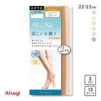 厚木ATSUGI女士冷感中筒袜有效消臭防紫外线防静电加工舒适丝袜