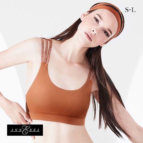 (アンブラ)ANNEBRA Saturn スポーツブラ ブラジャー レディース ノンワイヤー ヨガ トレーニング ランニング 単品 ストリング