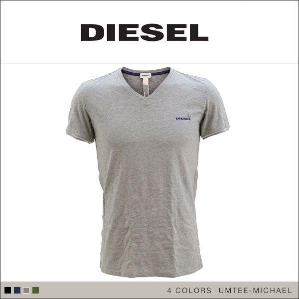 30%OFF (ディーゼル)DIESEL MENS UMTEE-MICHAEL the SEASONAL ショートスリーブVネックTシャツ