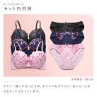 诗萝涵朵文胸套装福袋GHI码SHIROHATO大码颜色随机3套装