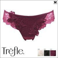 日本制 华歌尔Wacoal Trefle 88G BBF488 奢华丁字裤 Trefle_88_内裤 日本直邮