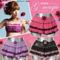 ●【g-magic】MOMOERI 柔美飘逸的小短裤