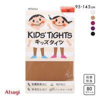 日本制 ATSUGI 厚木  学生连裤袜 80D 发热 连体裤